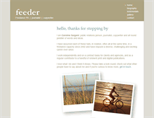 Tablet Preview of feederpr.co.uk